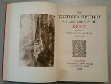 ANTIQUE BOOK.1904.THE VICTORIA HISTORY-COUNTIES OF ENGLAND.KENT.MAPS.518 PAGE'S.