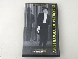 ANTOLOGIA DI PETROLINI - ALESSANDRO BLASETTI - VHS -1949 PAL - BUONO -V32
