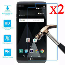 2 Pcs 9H+ Premium Tempered Glass Screen Protector Film Guard For LG V20 2016