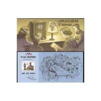 BLOC-FEUILLET SOUVENIR DE GAULLE APPEL DE LONDRES RADIO B.B.C
