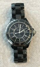 Chanel J12 Unisex H0685 Watch Black Ceramic 38mm Excellent Condition Automatic