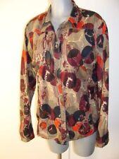 Bluse braun in Gr XXL 44 46 48 in Beige gemustert von Cecil aus Baumwolle IV41