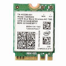 Intel 7265 Dual Band Wireless-AC 802.11abgn/ac Dual Band 2x2 NGFF  IBM 04X6030