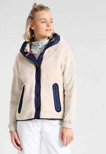 Napapijri TUR MERINO Fleece Hooded Jacket RRP £175 Size XL
