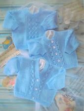 Señoras puente con volantes /& Cardigan para Mujer Doble Tejer patrón King Cole 5093