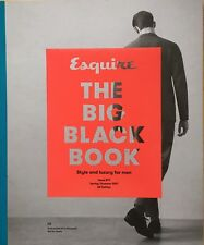 Esquire Big Black Book Magazine UK 9 S/S 2017 NEW