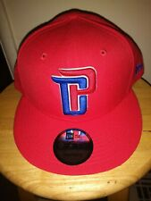 df1e5a96bda230 Era 9fifty Detroit Pistons Solid Alternate Snapback Hat Cap NBA DP
