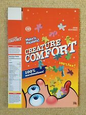 Arcade Fire - Creature Comfort - promotional cereal box - NOT a record or CD