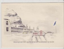 Military Christmas Cards - Allied AF Northern Europe - undated -   (MAF19)(X)