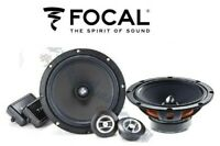 FOCAL KIT RSE-165 WOOFER TWEETER CROSSOVER 2 VIE 16,5CM ALTOPARLANTE CASSE AUTO