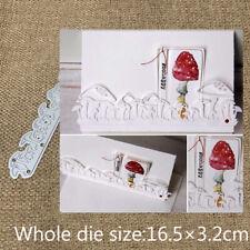 Mushroom Strip Cutting Dies Scrapbook Album Paper Card Craft Embossing Die Cuts