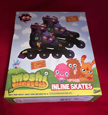 Moshi Monsters-Rollers en ligne-Roller blades-Réglable-UK junior 9 -12