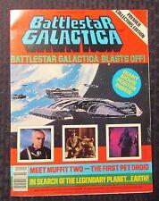 1978 BATTLESTAR GALACTICA Movie Poster Magazine #1 FN 6.0