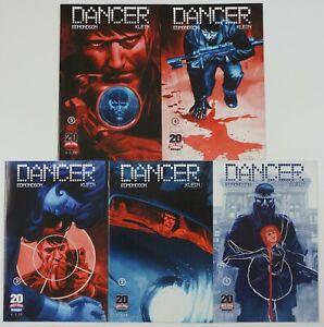 Dancer #1-5 VF/NM complete series - image comics - nathan edmondson 2 3 4 set