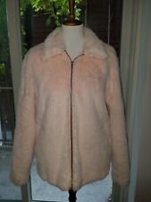 Kendall Kylie Large Pink Soft Furry Fuzzy Jacket Pacsun