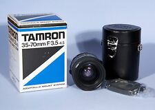 Tamron 35-70mm f/3.5-4.5 CF Macro BBAR MC 09A Adaptall 2 Lens * Excellent *