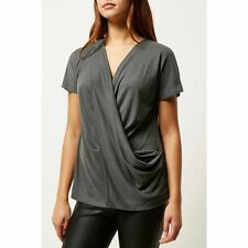 River Island Polyester Regular Size Tops & Shirts for Women