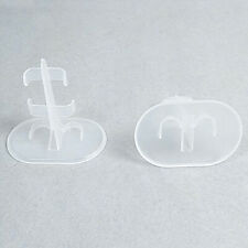 10pc Clear Doll Stand Support For Barbie Dolls Display Prop Up Model Accessories
