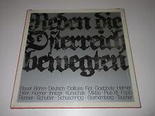 2 LP BOX/REDEN DIE ÖSTERREICH BEWEGTEN/ORF 6641215 Philips/+ Booklet/SEALED NEU