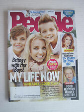 People V83N14 - Britney Spears with Her Boys!  My Life Now - 6-Apr-2015