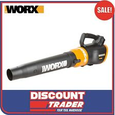 WORX WG546E.9 20V MAX Lithium-ion Super Blower Turbine Sweeper - Tool Only