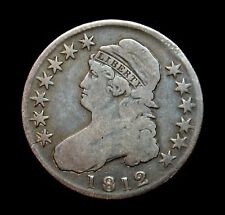 1812 Capped Bust Half Dollar A24