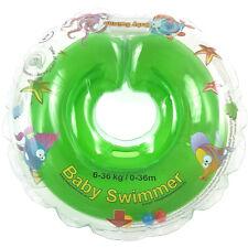 BabySwimmer Halsschwimmring Badekragen 6-36 kg Grün Babyschwimmring TÜV GS