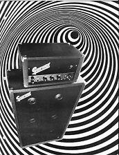 VINTAGE MUSICAL INSTRUMENT CATALOG #10019 -1970s GARNET GUITAR AMPLIFIERS