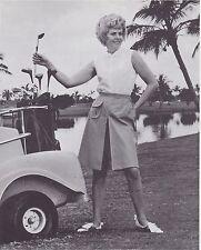1970s AD SHEET #2812 - HARBURT ETONIC WOMENS GOLF CLOTHING - POPLIN CULOTTE