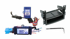Radio Replacement Interface w/Steering Control Dash Kit w/Antenna for Chevrolet