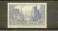 "FRANCE STAMP TIMBRE N° 261b "" PORT DE LA ROCHELLE 10F TYPE I "" NEUF xx SUP"