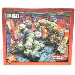 Dreamworks Milton Bradley Small Soldiers 1998 Puzzle 60 Piece NEW in Box 4877-2