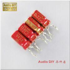 10pcs ELNA Gold Red Old Cerafine Series 22uF/10V Audio Electrolytic Capacitor