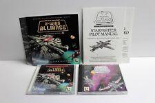 Lucas Arts Star Wars lot X-Wing Alliance TIE Fighter Force Commander PC CD-ROM