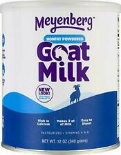 Meyenberg Nonfat Powdered Goat Milk, 12 oz, Vitamins A & 12 Ounce (Pack of 1)