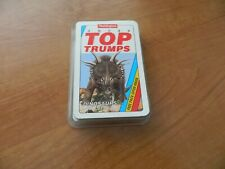 VINTAGE WADDINGTONS SUPER TOP TRUMPS CARD GAME- DINOSAURS 2