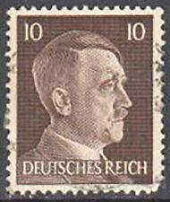 SC#512 - Germany Nazi 3rd Reich 1941 - Adolf Hitler Head 10 Pfennig Used (512-1)