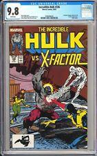 Incredible Hulk #336 CGC 9.8 WP 1987 3789369016 Hulk vs X-Factor! Todd McFarlane