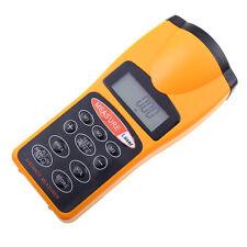 Electronic Tape Measure Ultrasonic Distance Meter Measure Range Finder Laser