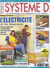 Système D n° 643 L'électricité à la maison - chaise escabeau