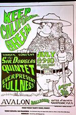 PRO POT GREEN-IN 1966 - FAMILY DOG#134 - Mouse Studio  AVALON BALLROOM 1ST