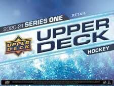 2020-21 UD Series 1 HOCKEY - ONE HOBBY (1) Box - Break #151 Boston