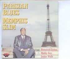 CD MEMPHIS SLIM parisian blues GERMAN 1988 EX