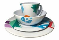 OLPRO Melamine Set 24 Piece - OLPRO Spring Bay Design
