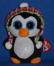 "TY BEANIE BOOS - PENELOPE the 6"" PENGUIN - MINT with TAG - SEE PICS"