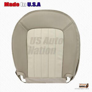 2002 - 2005 Mercury Mountaineer Driver Bottom Perforated Leather Seat Cover Tan