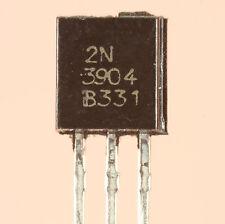 TRANSISTOR 2N3904 SILICIUM NPN 60V 200mA 350mW BOITIER PLASTIQUE TO92