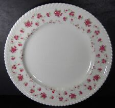 "JOHNSON BROTHERS England china RAMBLER ROSE pattern Dinner Plate @ 10"" - crazing"