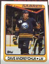 1990 Topps Hockey #169 Dave Andreychuk - Many Sports Card Available