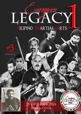 3 DVD Box 1. European Legacy Filipino Martial Arts Arnis Kali Eskrima JKD